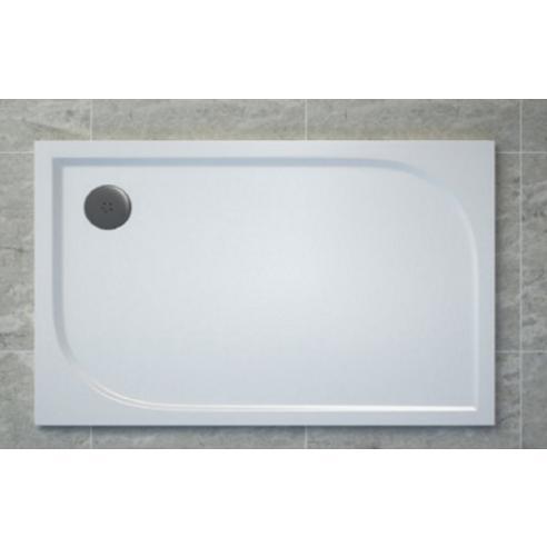 SANSWISS Tracy sprchová vanička 80 x 100 cm biela WAA8010004