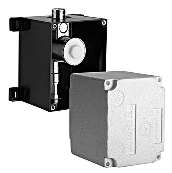 SCHELL podomietkový pisoárový splachovač Compact II- teleso