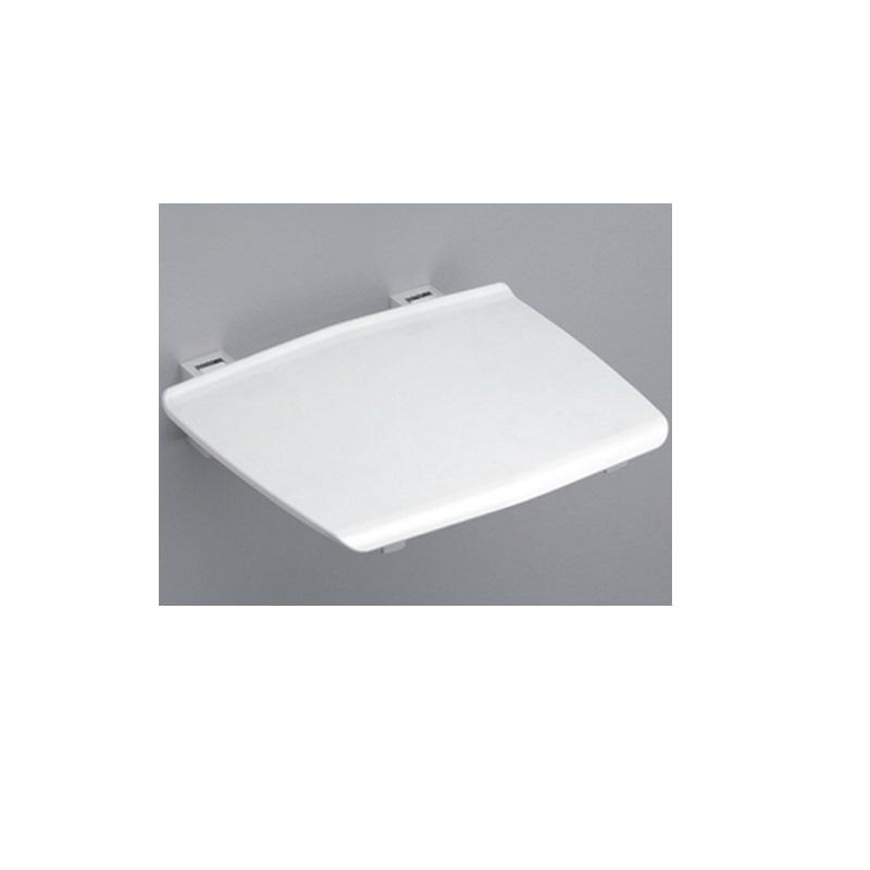 sedátko do sprchy COMFORT DUS1 biela/aluchróm sklopné