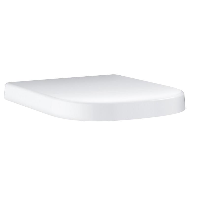 sedátko WC EURO Ceramic so SoftClose alpská biela