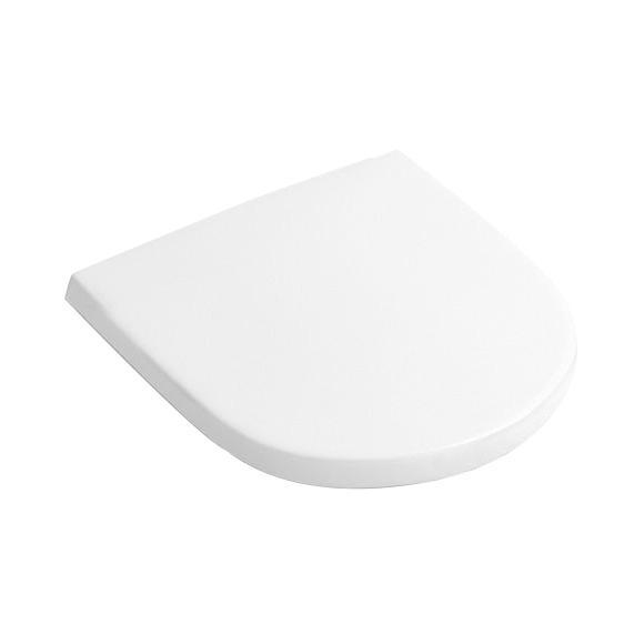 sedátko WC O.NOVO biele so SoftClose zavesenie Quick-Release