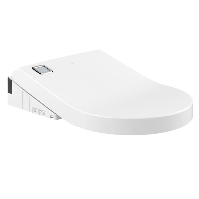 sedátko WC VICLEAN U+ elektronické bidetové s fénom s diaľkovým ovládaním U+ biela