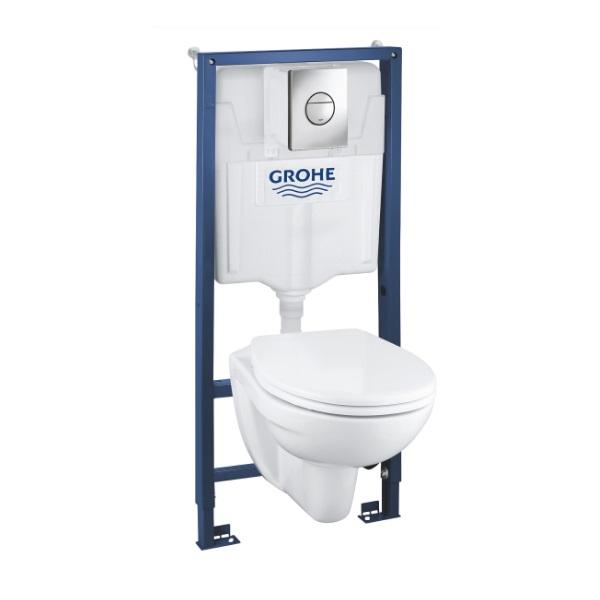 set 4v1 SOLIDO misa WC závesná Euro Ceramic