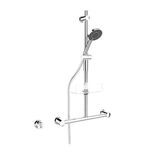 set sprchový CLASSICJET NEW 2017 60 tyč s madlom 3-pol sprcha, hadica 1,75 m chróm