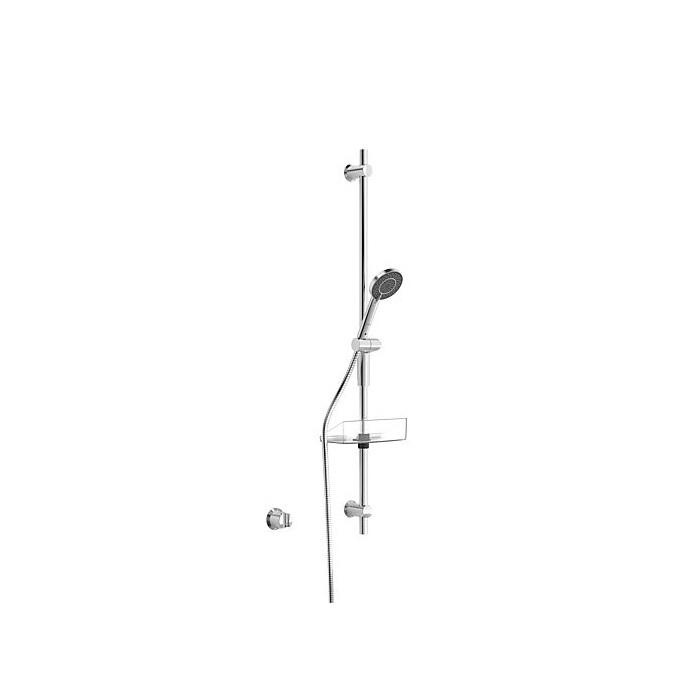 set sprchový CLASSICJET NEW 2017 90 tyč 3-polohová sprcha, hadica 1,75 m chróm