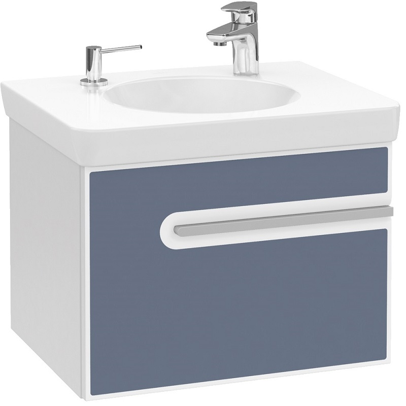 skrinka pod umývadlo JOYCE 600 glosy white/bali