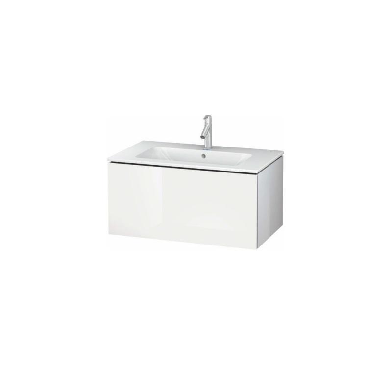 skrinka pod umývadlo L-CUBE 820 x 481 x 400 1 zásuv. Push Open biela lesklá