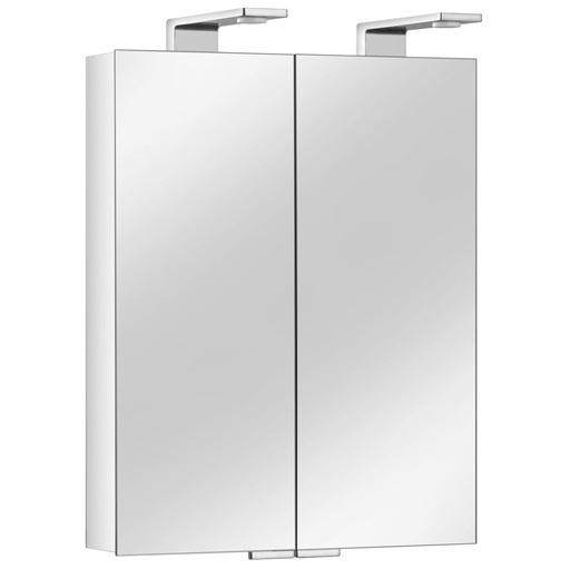 skrinka zrkadlová Royal Universe 650 x 752 x 143 s LED osvetlením