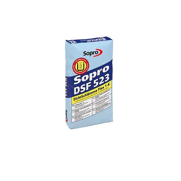 SOPRO hydroizolácia DSF 523 20 Kg DICHTSCHL.FLEX 1-K exterierová 231523