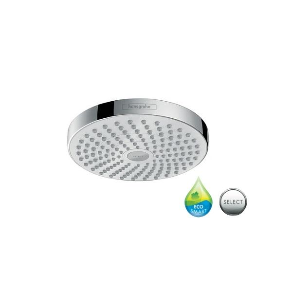 sprcha hlavová horná CROMA Select S 180 2jet EcoSmart biela/chróm (k sprch ramenu )