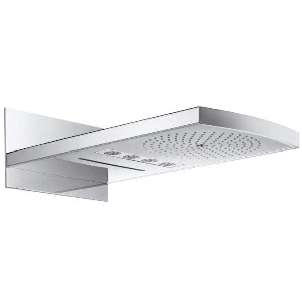 sprcha hlavová nást dažďová RAINFALL 240 Air 3jet. biela/chróm s osvetlením