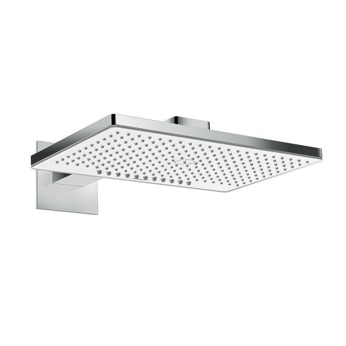 sprcha hlavová nást RAINMAKER Select 460 2jet EcoSmart s ramenom 450 mm biela/chróm ( na ibox )