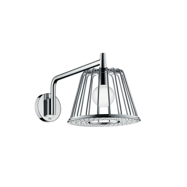 sprcha hlavová strop LAMPSHOWER 1jet s designom Nendo chróm