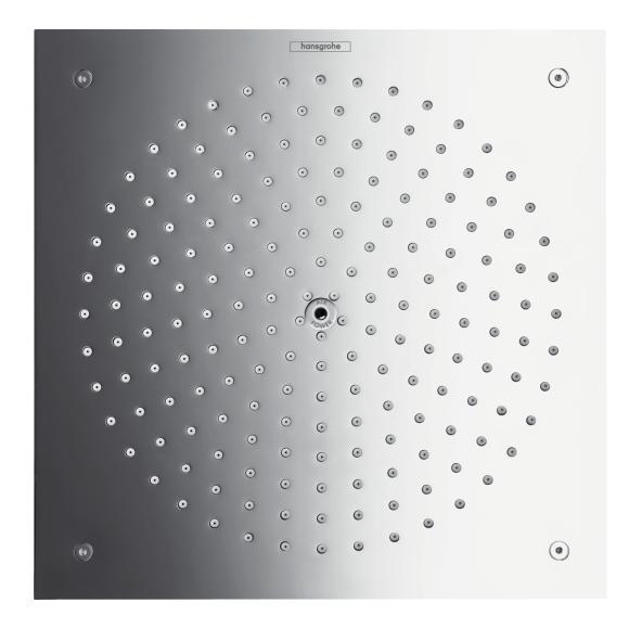sprcha hlavová strop RAINDANCE 260 x 260 Air  1jet chróm