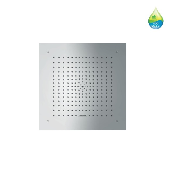 sprcha hlavová strop RAINDANCE E 400 x 400 mm Air 1jet EcoSmart 9 l/min. chróm