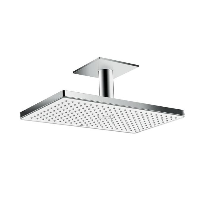 sprcha hlavová strop RAINMAKER Select 460 1jet EcoSmart s prívodom od stropu 100 mm biela/chróm