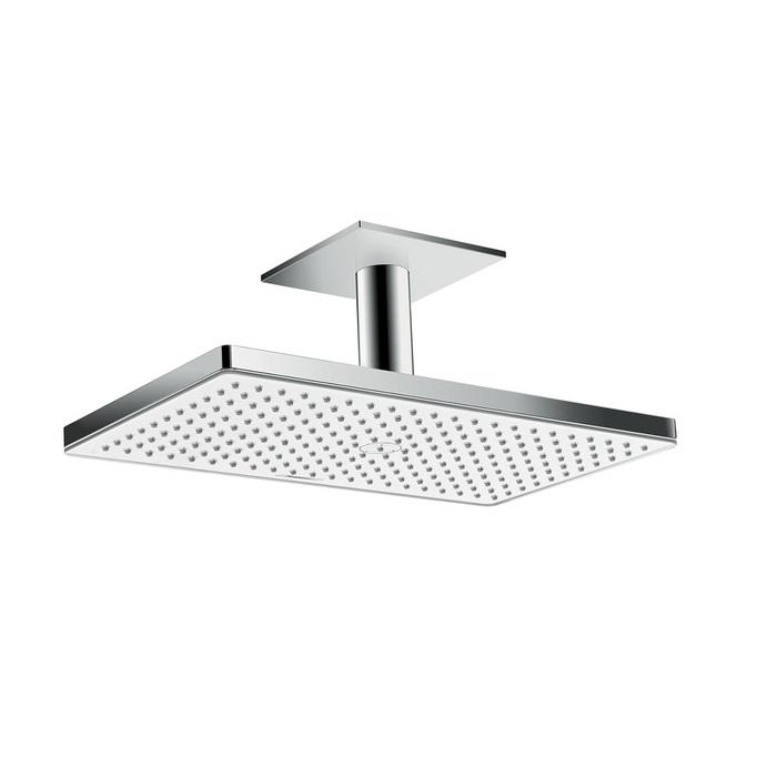 sprcha hlavová strop RAINMAKER Select 460 1jet s prívodom od stropu 100 mm biela/chróm