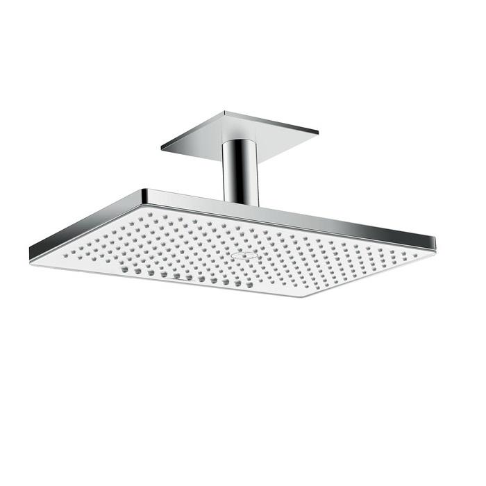 sprcha hlavová strop RAINMAKER Select 460 2jet s prívodom od stropa 100 mm biela/chróm
