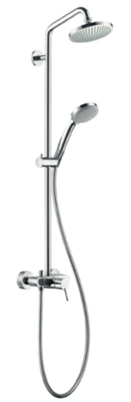 systém sprchový CROMA 100 1jet Showerpipe s pákovou batériou chróm