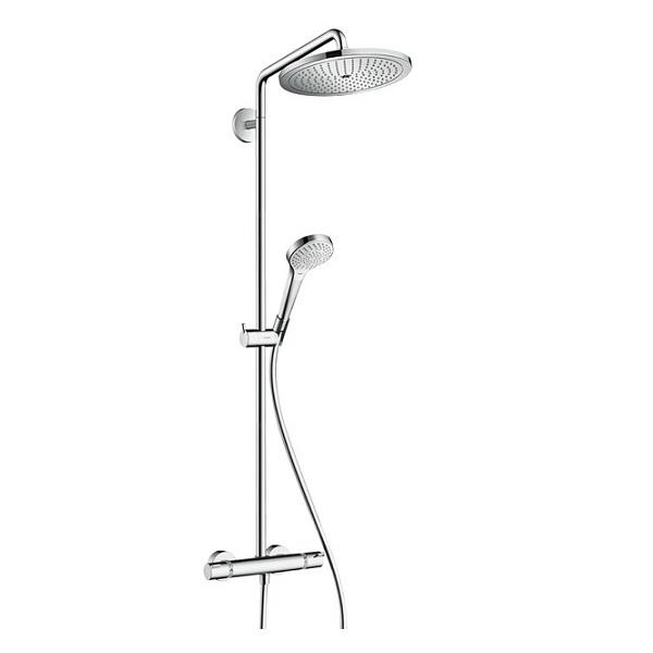 systém sprchový CROMA Select 280 Air 1jet Showerpipe EcoSmart 9 l/min. chróm