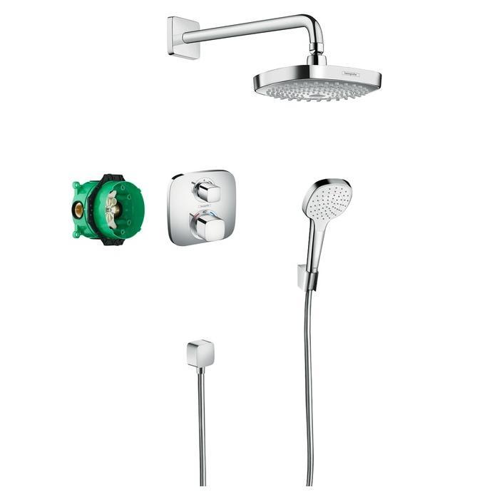 systém sprchový CROMA Select E Ecostat E zostava s termostatom chróm