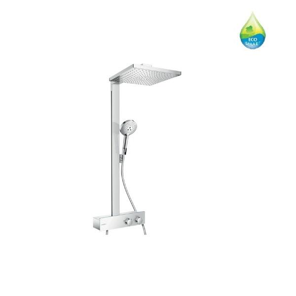 systém sprchový RAINDANCE E 300 1jet Showerpipe 350 ST EcoSmart s termostatom chróm