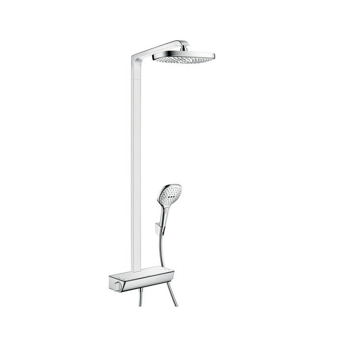 systém sprchový RAINDANCE Select E 300 2jet Showerpipe EcoSmart s termostatom chróm
