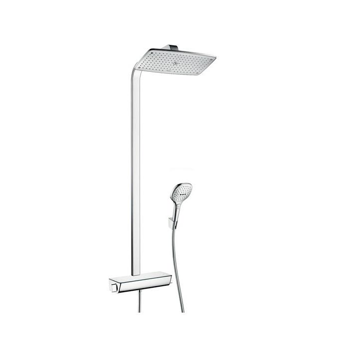 systém sprchový RAINDANCE Select E 360 1jet Showerpipe EcoSmart s termostatom chróm
