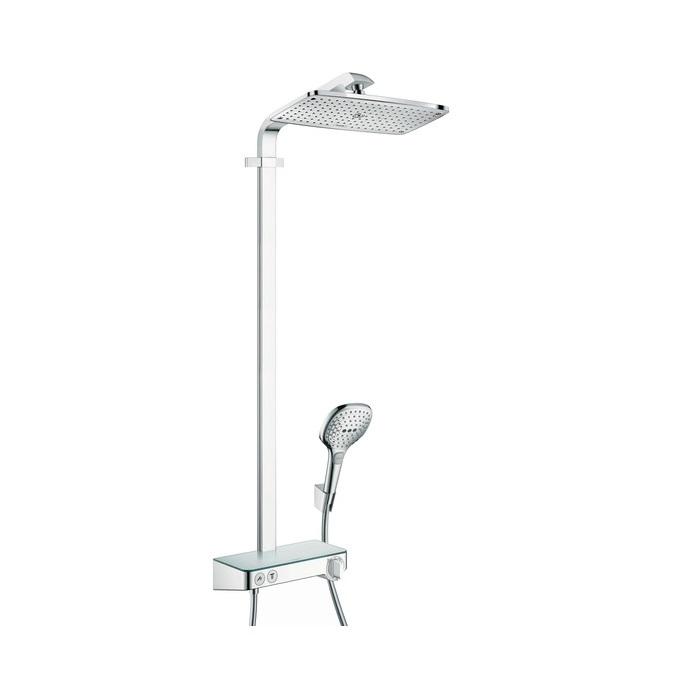 systém sprchový RAINDANCE Select E 360 1jet Showerpipe s termostatom Select chróm