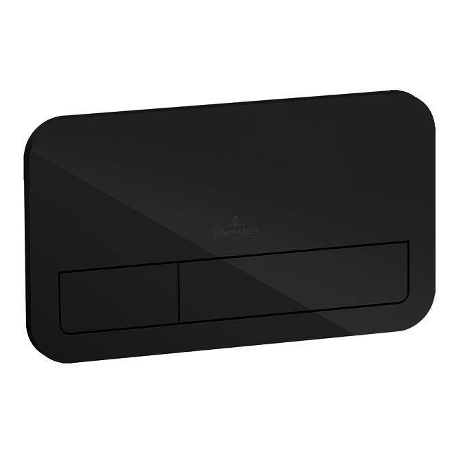tlačítko WC VICONNECT M200 sklo čierne