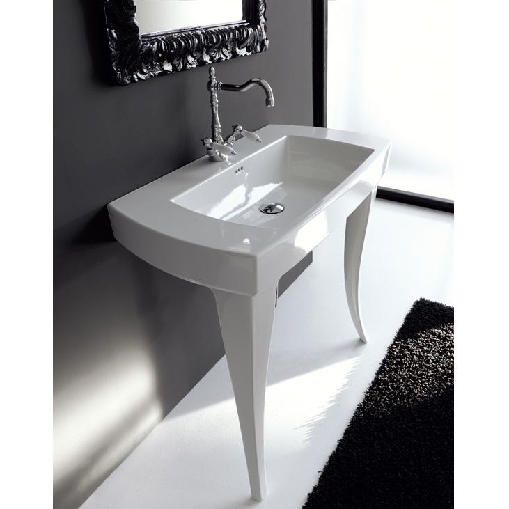 umývadlo ARTCERAM JAZZ 91 x 48 biela