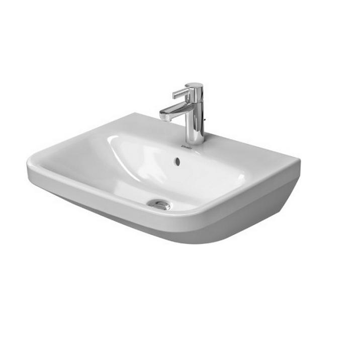 umývadlo DURA STYLE 55 x 44 biela s WG