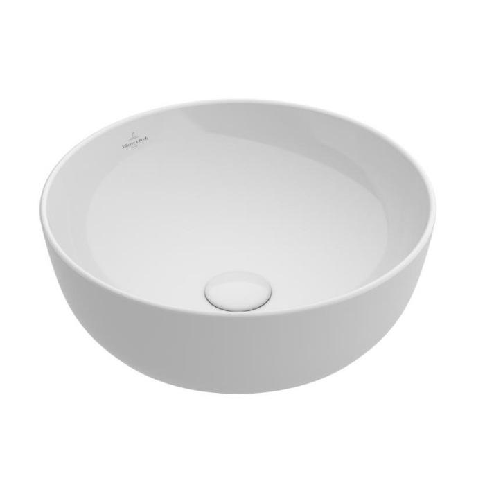 umývadlo na dosku ARTIS 43 cm miska bez prepadu biela C+