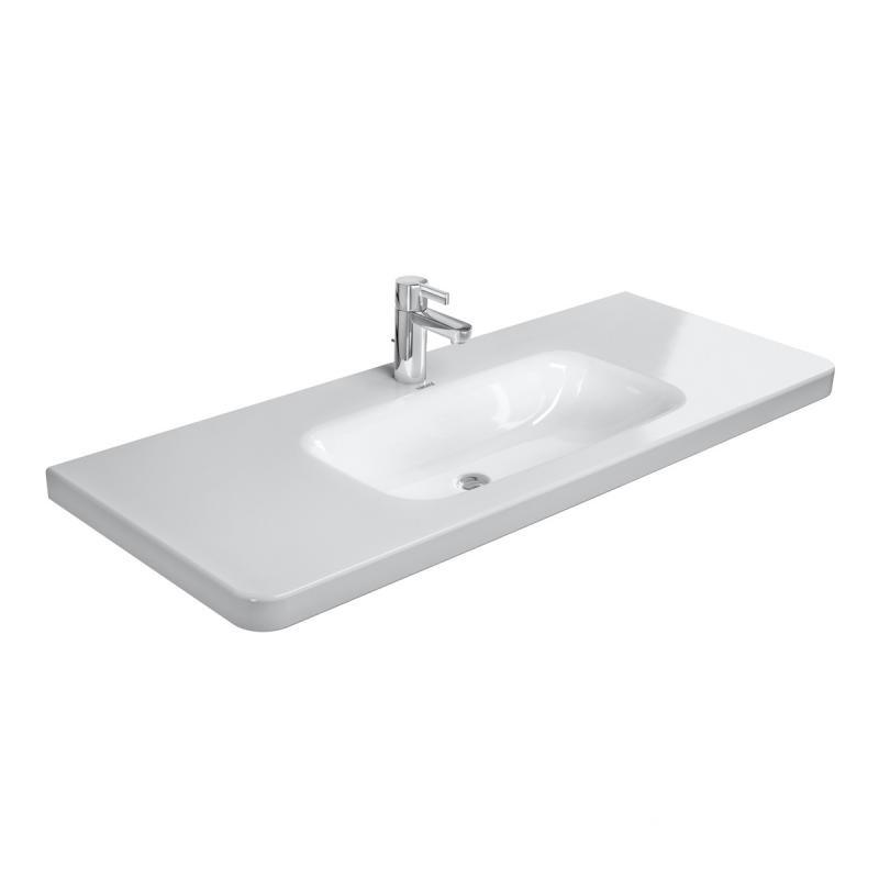 umývadlo nábytkové DURA STYLE 120 x 48 biele s WG
