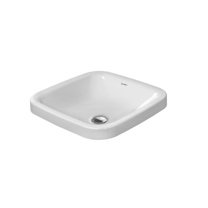 umývadlo podzápustné DURA STYLE 43 x 43 cm biele