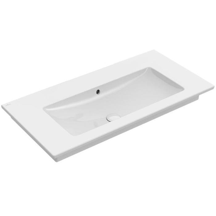 umývadlo VENTICELLO 100 x 50 cm, bez otvoru pre batériu, biela
