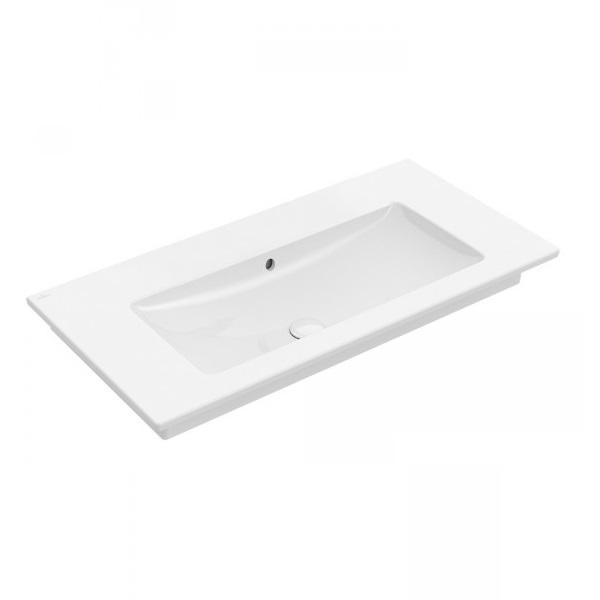 umývadlo VENTICELLO 100 x 50 cm, bez otvoru pre batériu, biela C+