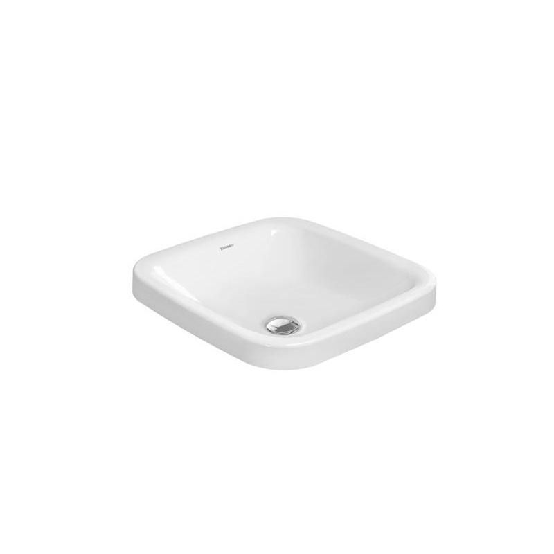 umývadlo zápustné DURA STYLE 43 x 43 cm bez prepadu biela WG
