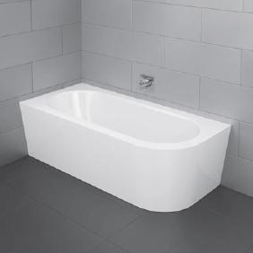 vaňa STARLET IV Comfort Silhouette 175 x 80 x 42 do rohu biela
