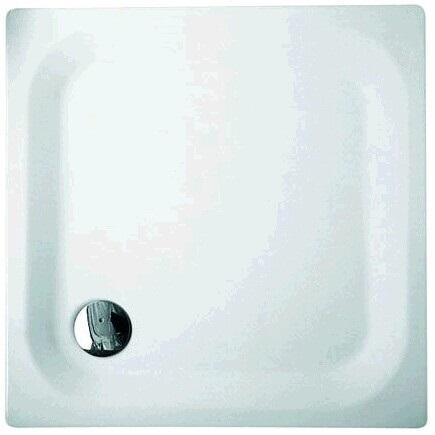 vanička BETTE 80 x 80 x 3,5 biela nízka