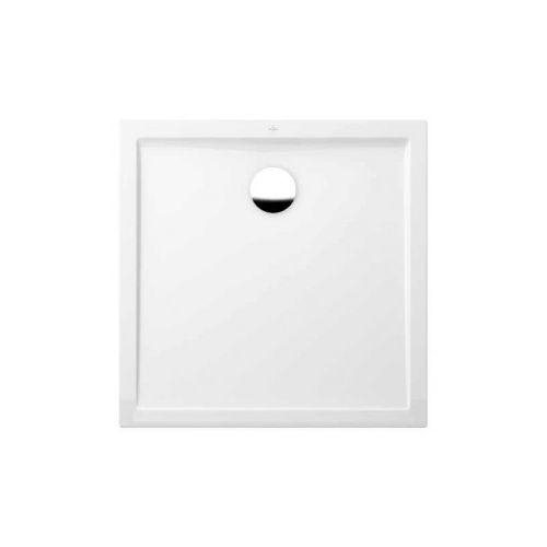 vanička sprchová FUTURION FLAT 4-uhol 100 x 100 biela Quaryl Villeroy & Boch