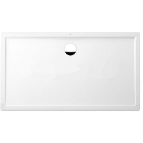 vanička sprchová FUTURION FLAT 4-uhol 120 x 80 biela Quaryl Villeroy & Boch