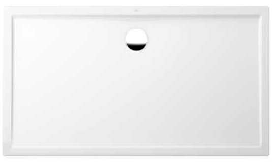 vanička sprchová FUTURION FLAT 4-uhol 140 x 90 biela Quaryl Villeroy & Boch