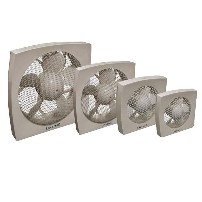 ventilátor priemyslený CATA LHV 160 výkon 450 m3/hod. axiálny biely