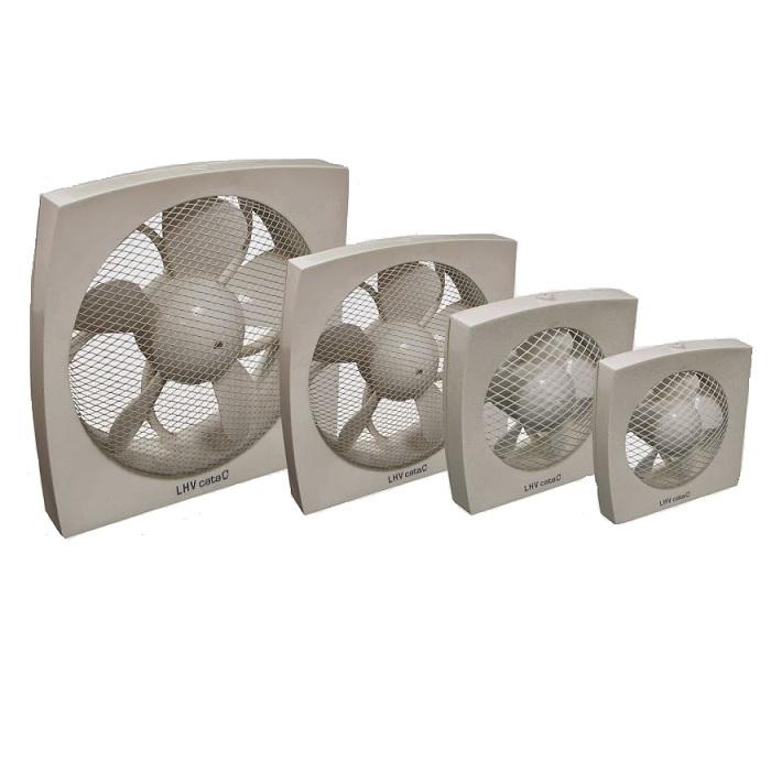 ventilátor priemyslený CATA LHV 190 výkon 700 m3/hod. axiálny biely