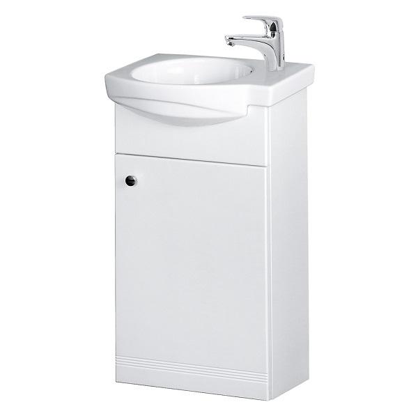 VILAN RIVA 40 závesná umývadlová skrinka pod umývadlo Riva 40 biela lesklá