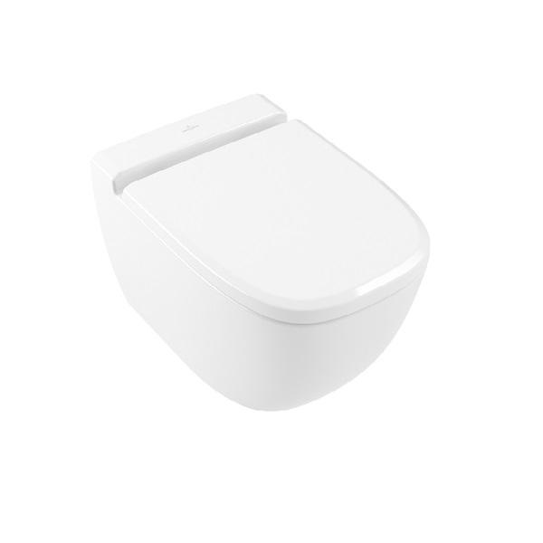 VILLEROY & BOCH Antheus WC misa závesná biela 4608R0R1