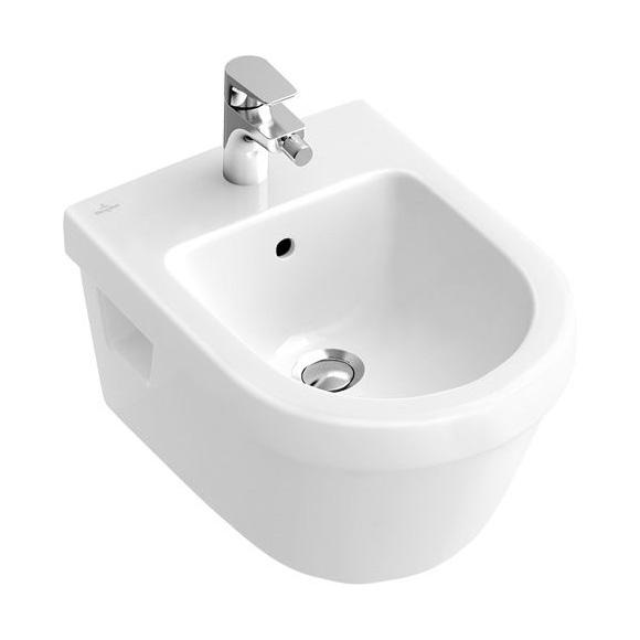 VILLEROY & BOCH Architectura závesný bidet biely s CeramicPlus 548400R1