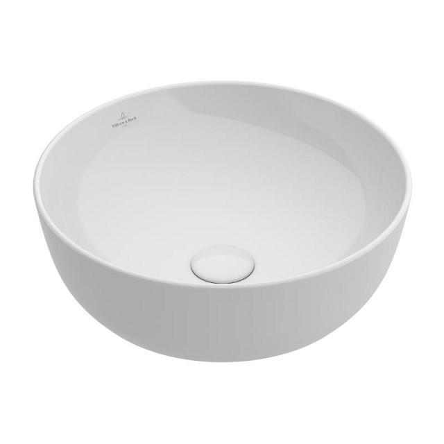 VILLEROY & BOCH Artis 43 cm umývadlo na dosku bez prepadu 41794301