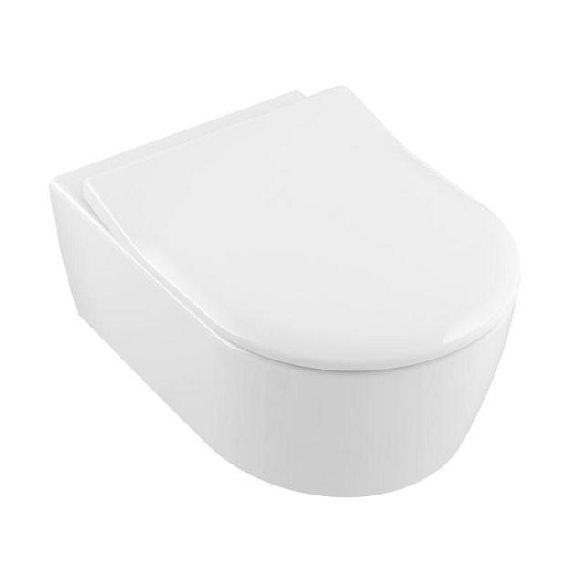VILLEROY & BOCH Avento 37 x 53 cm misa WC závesná s DirectFlush so sedátkom Slim SoftClosing 5656RS01